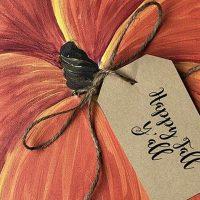 Pumpkin Canvas - Paint Create and Sip Party Art Maker Class