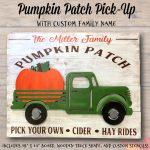 Pumpkin Patch Pick-Up