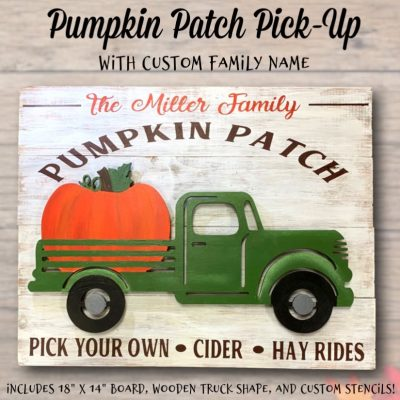 Pumpkin Patch Pick-Up
