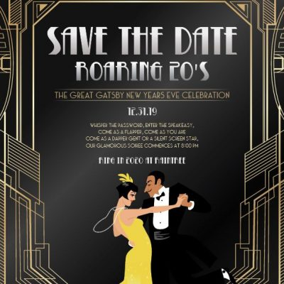 The Great Gatsby New Years Eve Celebration