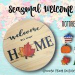 Seasonal Welcome Workshop!