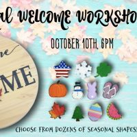 Seasonal Welcome Workshop!