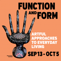 OPENING! Functional art to beautify everyday spaces; show opens Sept. 13 at Summit Artspace