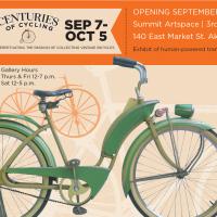 CENTURIES OF CYCLING Display of Vintage Bicycles