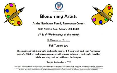 Blossoming Artists: Toddler Art Classes