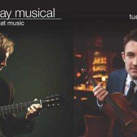 Classical guitarist Jason Vieaux and violinist Adam Barnett-Hart