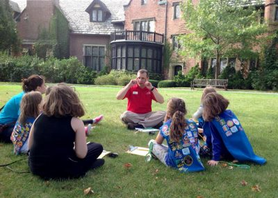 "Making ""Sense"" of Stan Hywet for Scouts"