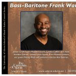 Bass-Baritone Frank Ward and Friends