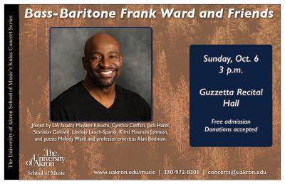 Bass-Baritone Frank Ward and Friends