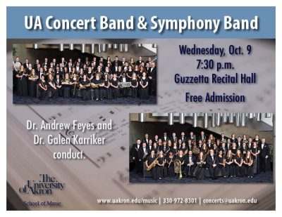 UA Symphony Band and Concert Band