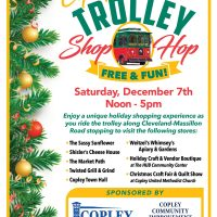Copley Trolley Shop Hop 2019