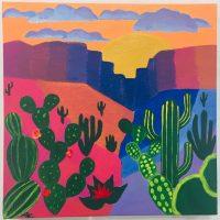 Adult Painting: Southwest Landscape