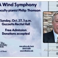 UA Wind Symphony with faculty pianist Philip Thomson