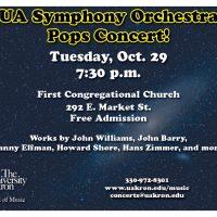 UA Symphony Orchestra - Pops Concert