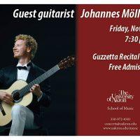 Guest guitarist Johannes Möller