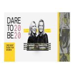 Dare To Be 2020 Moving Beyond