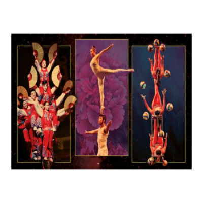 The Golden Dragon Acrobats present Cirque Ziva