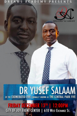When They See Us: Featuring Dr. Yusef Salaam