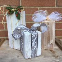 Three Little Wooden Gifts