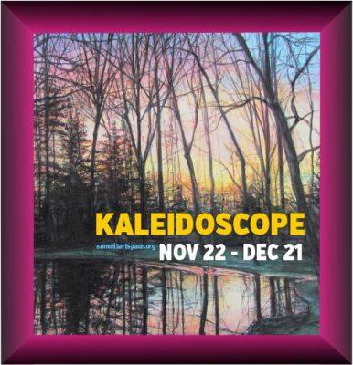 OPENING NIGHT! Kaleidoscope Holiday Art Show prese...
