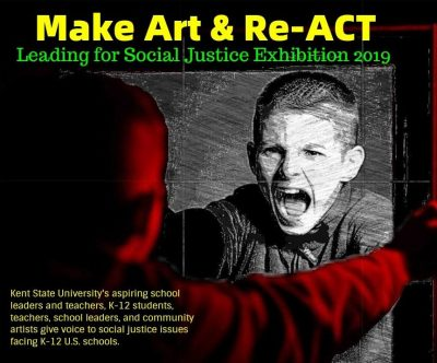 Make Art & Re-ACT Social Justice Exhibit, Nov....