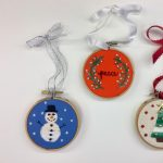 Embroidered Ornaments