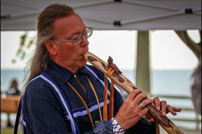 Native American flute concert/film showing