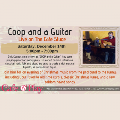 COOP and a Guitar, Live on the Cafe Stage!