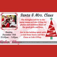 Visit with Santa & Mrs. Claus!