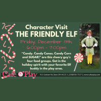 Character Visit with the Friendly Elf
