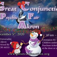 Great Conjunction Holiday Gifts and Treasures Psychic Fair in Akron