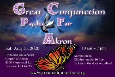 Great Conjunction Summer Psychic Fair in Akron