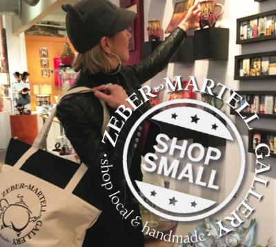 Shop Small at Zeber-Martell ~ Small Biz Saturday