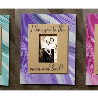 Pour Painted Valentine Frames Paint Sip Wine Art Maker Class