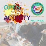Feb 8, 2020 Battle of the Teal 4EDU art activity -...