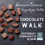Chocolate Walk in Downtown Cuyahoga Falls