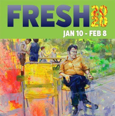 FRESH 2020 Artist Discussion Panel at Summit Artspace