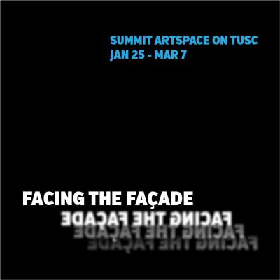 Facing the Façade, Artist Discussion Panel, Feb. ...
