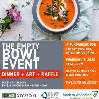 Empty Bowl Event - @Woodridge High School to benef...