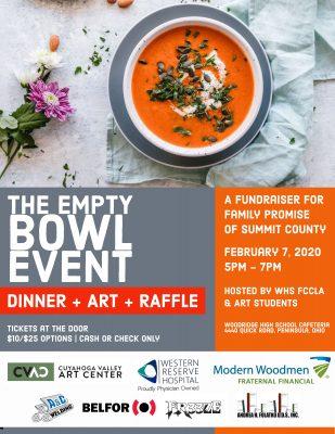 Empty Bowl Event - @Woodridge High School to benef...
