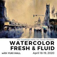 Watercolor Fresh & Fluid with Yuki Hall