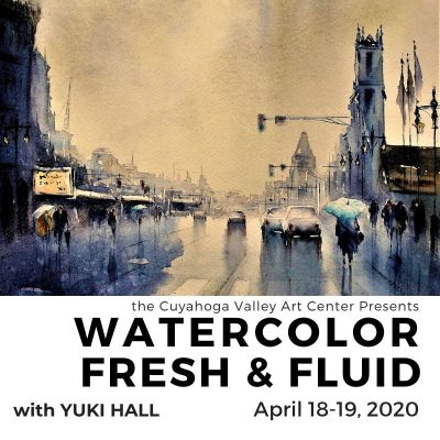 Watercolor Fresh & Fluid with Yuki Hall