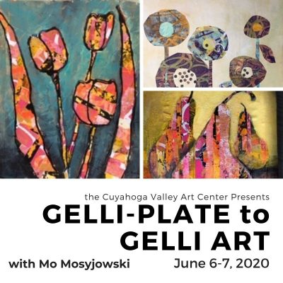 Gelli-Plate to Gelli Art with Mo Mosyjowski