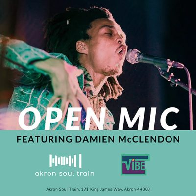Open Mic at Akron Soul Train featuring Damien McClendon