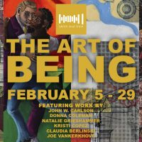The Art of BEING Art Exhibition at Akron Soul Train
