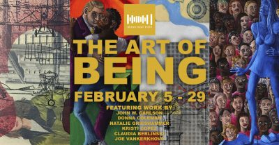The Art of BEING Art Exhibition at Akron Soul Trai...