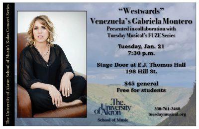 """""""Westwards"""" - Venezuela's Gabriela Montero"""