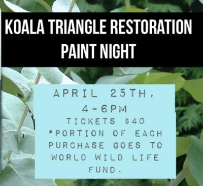 Restoration of Koala Triangle Paint Night