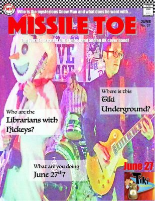 Missile Toe and Librarians with Hickeys at Tiki Un...