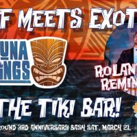 Tiki Underground Epic 3rd Anniversary Celebration w/Kahuna Kings (POSTPONED)